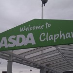 The offensive Asda sign