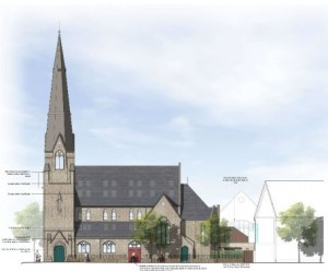 Planning applications on churches