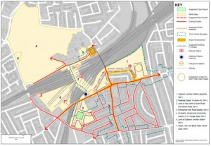 Visioning (in progress) for the future of Clapham Junction