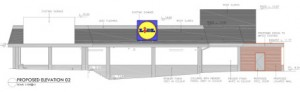 Lidl – extension for small bakery