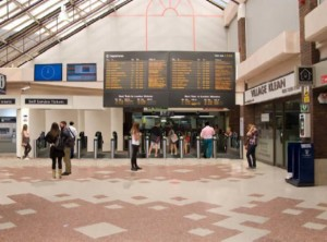 Platform 17 will be extended and barrier entrance enlarged