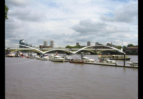 Diamond Jubilee Bridge designed by One-World Design, which were approved in November 2013