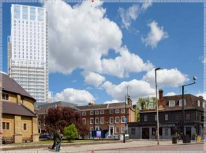 Planning notice: Higher tower proposed for the Ram Brewery site