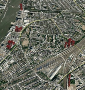 With Google Earth Pro we can model and visualise developers' scheme