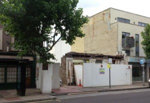 The Council requires the façade of the Alchemist pub to be rebuilt