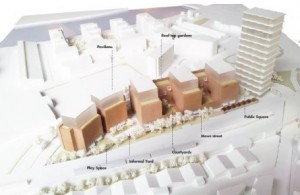 Up to 25 storey buildings to replace Homebase near Wandsworth roundabout