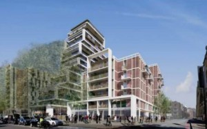 Scheme with a 21 storey tower recommended for approval at Homebase site, 198 York road