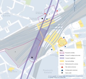 Crossrail 2 latest changes for Clapham Junction