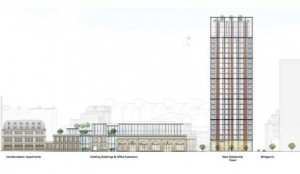 25 storey tower for 100 York Road