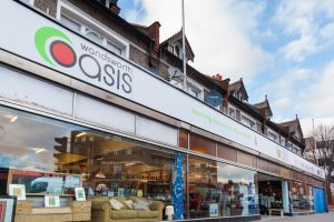 Wandsworth Oasis' Amen Corner Charity shop
