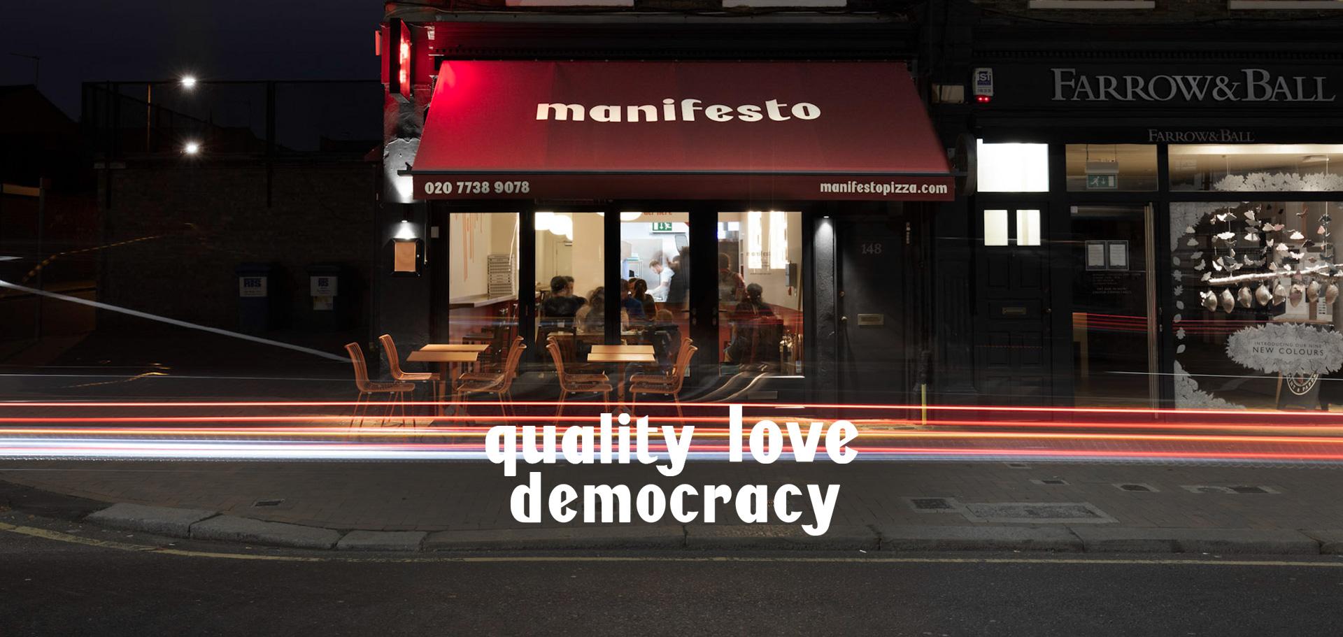 pizzeria Manifesto