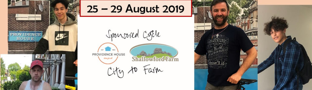 City to Farm Cycle Ride Fundraiser 2019